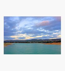 Champion Lake - At Sunset Photographic Print