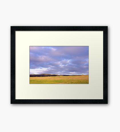 Champion Lake Foothills Framed Print