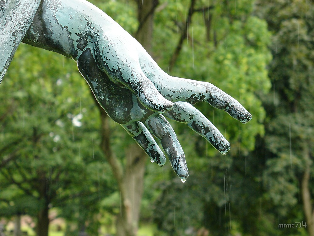 angel hand in the rain by mrmc714