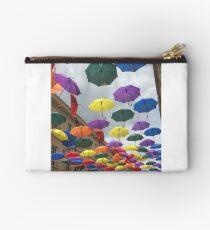 Rainbow Unbrellas Studio Pouch