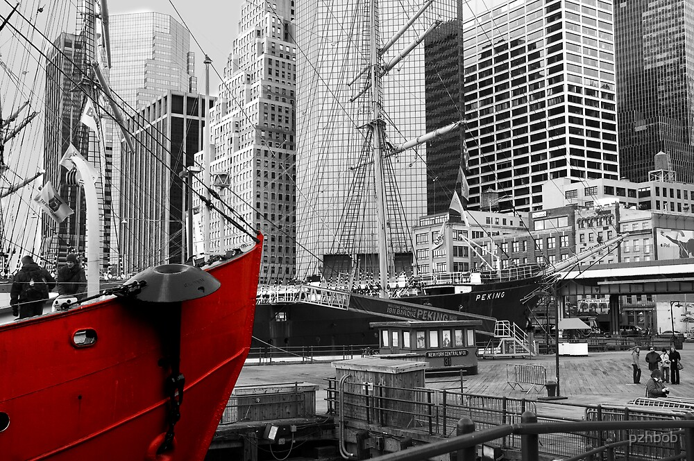 Water front low Manhattan by pzhbob