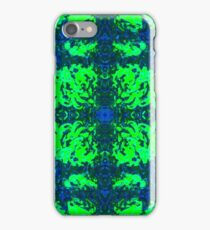 Psychedelic Rorschach - Green iPhone Case/Skin