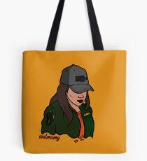 cap girl Tote Bag