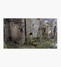 Abandoned architecture  Photographic Print
