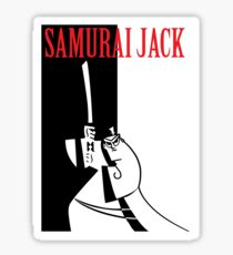 Samurai Jack Sticker