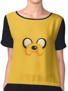"""Jake from """"Adventure time"""" Chiffon Top"""