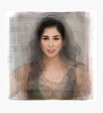 Sarah Silverman Portrait Photographic Print