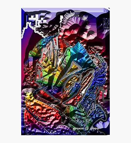 UNIVERSAL SAX MAN Photographic Print