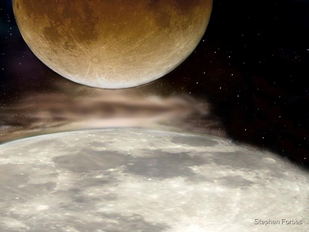 When Two Moons Collide by Stephen Forbes