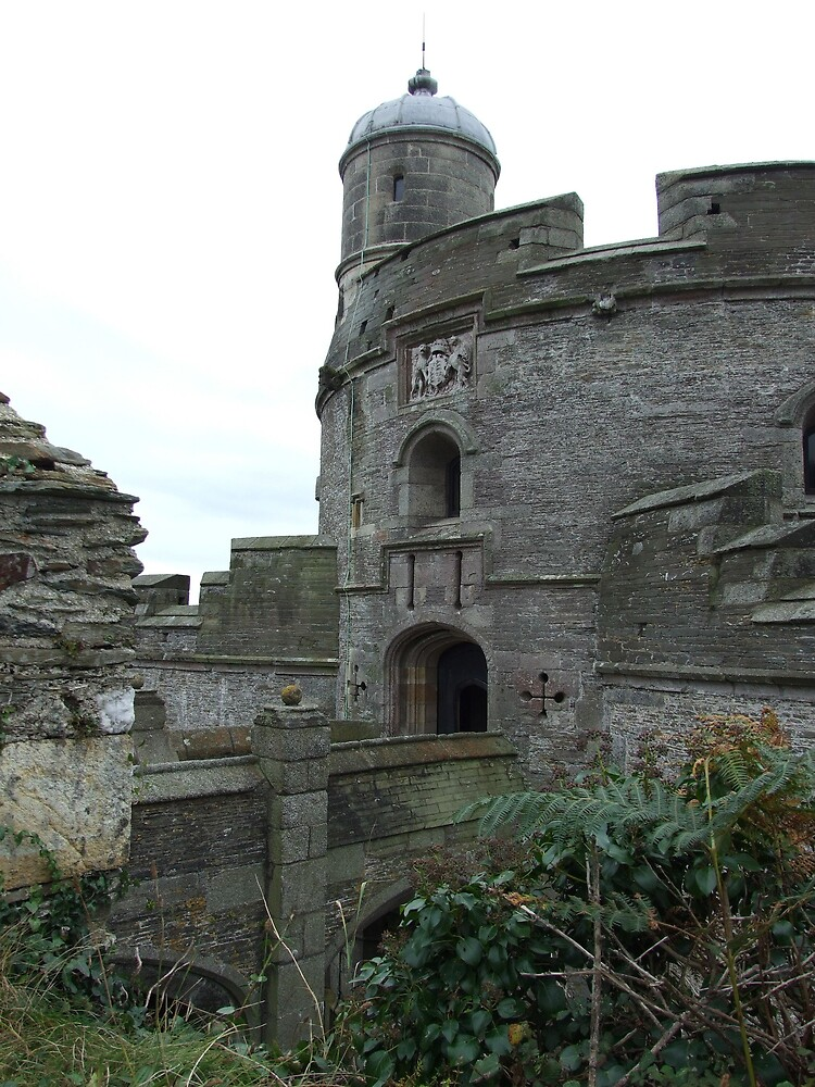 castle entrance by matjenkins