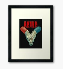 AKIRA V Framed Print