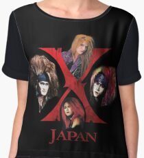 X Japan Classic 1988 Chiffon Top