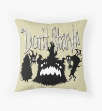 Don't Starve Together Shadow Pieces Throw Pillow