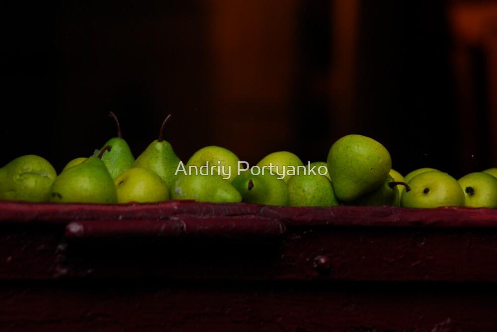 Pears by Andriy Portyanko