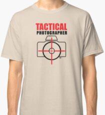 Tactical Photographer Logo - Version 1 Classic T-Shirt