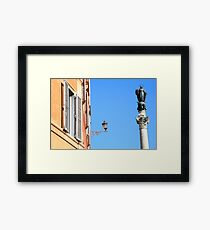 Classic Architecture - Rome, Italy Framed Print