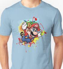 SMB3 Paint Splatter Unisex T-Shirt