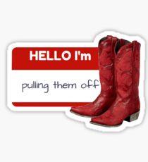 Pulling Them Off (HIMYM) Sticker