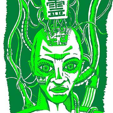The Green Ghost Exclusive by TJKernan