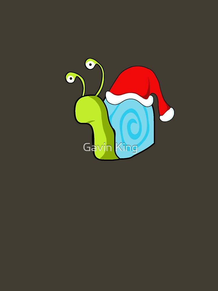Snail guy xmas. by gavinkingphotography