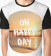 oh happy day sunset Graphic T-Shirt