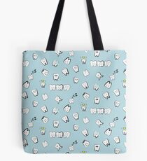 Tooth pattern Tote Bag