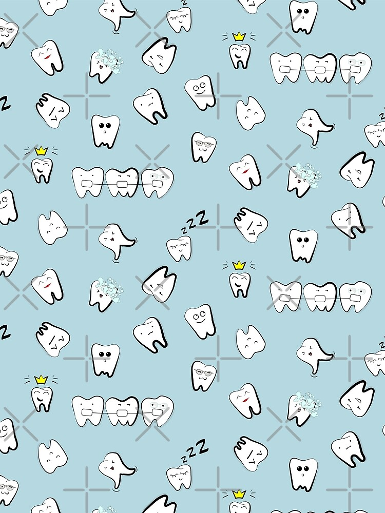Tooth pattern by Milatoo