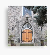 Spiritual Doorway Canvas Print