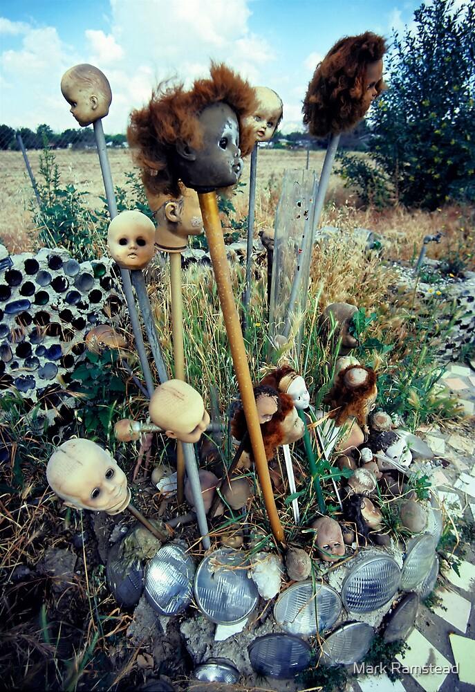 Doll Head Garden by Mark Ramstead