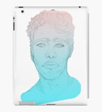 Bust (Colored Gradient Variation) iPad Case/Skin