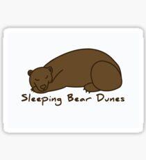Sleeping Bear Dunes Bear Sticker