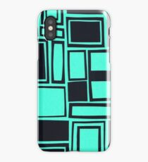 Windows & Frames - Teal iPhone Case