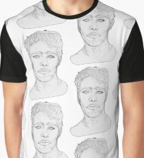 Bust (Grey Block Version) Graphic T-Shirt