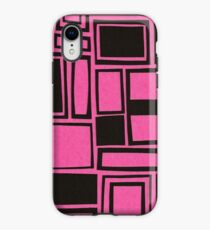 Windows & Frames - Pink iPhone Case