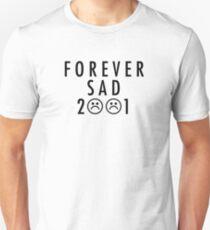 Camiseta ajustada FOREVERSAD 2001 Negro