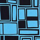 Windows & Frames - Blue by figandfossil