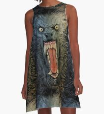 AMERICAN WEREWOLF IN LONDON 2 A-Line Dress