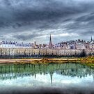 St Malo in the Rain by Ann Garrett