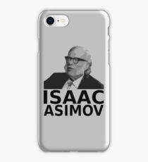 Isaac Asimov Black & White Vector iPhone Case/Skin
