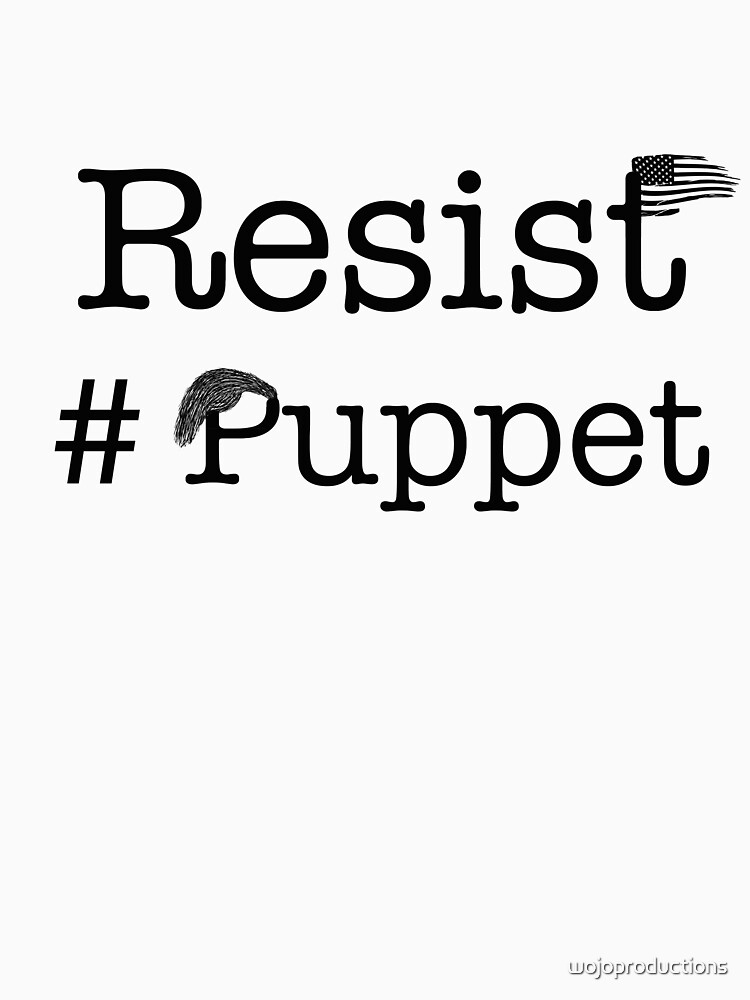 Resist Puppet by wojoproductions