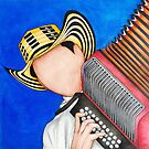 Red Accordion by stefiijuliette