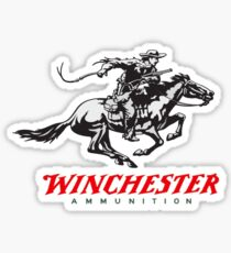 Winchester Firearms Ammunition Sticker