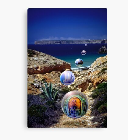 Church of the Algarve Canvas Print