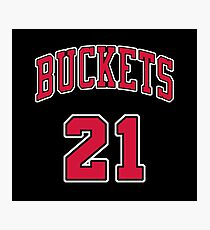 21 Buckets c Photographic Print