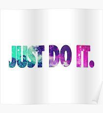Just do it. Poster