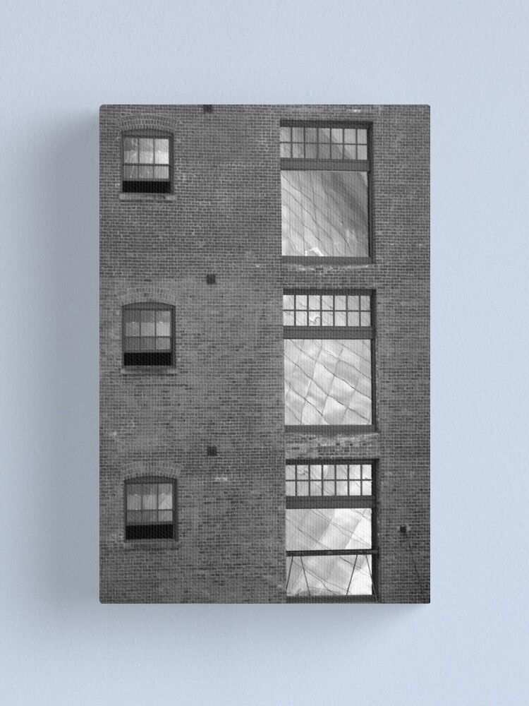 Alternate view of Quicksilver Reflection Canvas Print