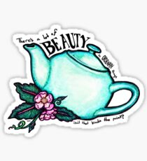 The Office Teapot Sticker