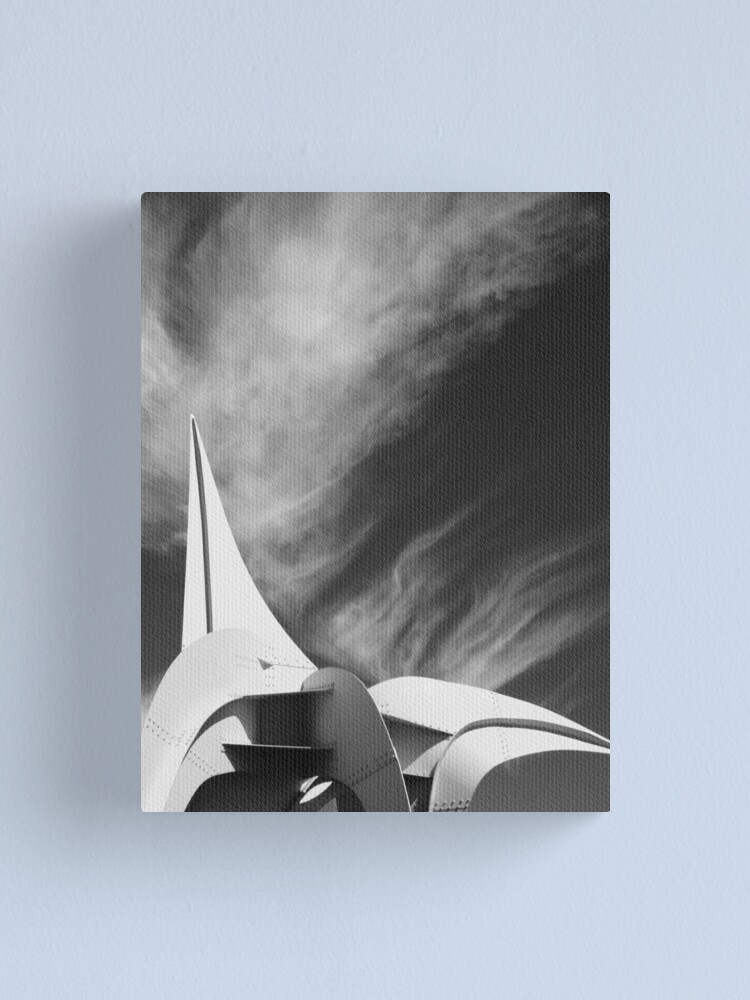 Alternate view of White Fire Canvas Print