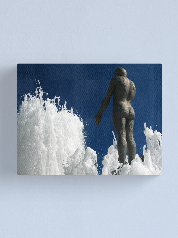 Alternate view of The Offering Canvas Print