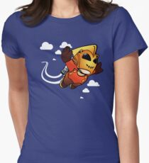 Rocketeerio Womens Fitted T-Shirt